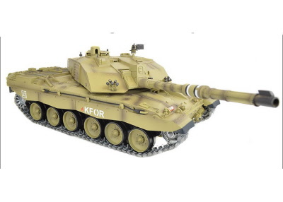 Henglong 1/16 Scale Challenger II RTR RC Tank Upgraded Metal Tracks  Sprockets Idlers Gearbox 3908